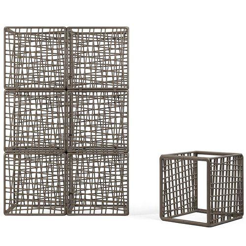 купить Модульный куб для системы ограждений Nardi KOMODO ECOWALL TERRA 40380.44.000 (Модульные ограждения для сада / террасы / бара, составная часть уличной ширмы) в Кишинёве