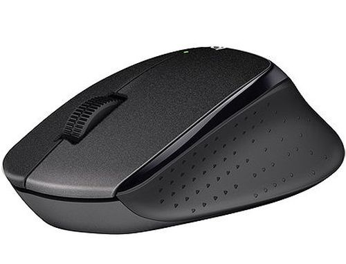 купить Logitech Wireless M330 Silent Plus, Optical Mouse for Notebooks, nano receiver, Black в Кишинёве