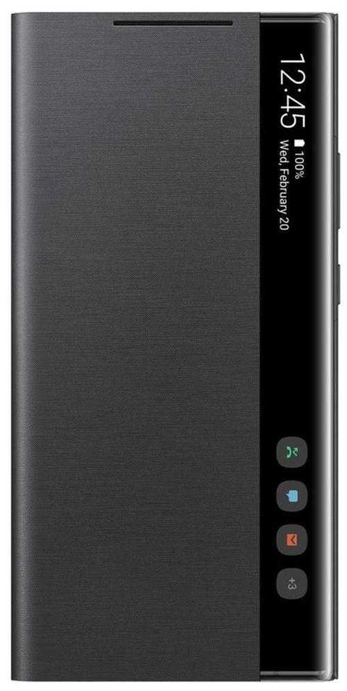 cumpără Husă telefon Samsung EF-ZN985 Clear View Cover Black în Chișinău