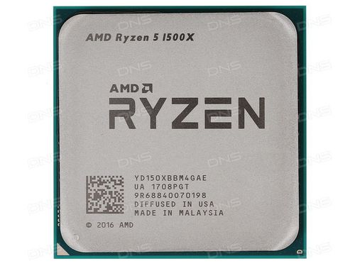 cumpără AMD Ryzen 5 1500X (4C/8T), Socket AM4, 3.5-3.7GHz, 16MB L3, 14nm 65W, BOX (with Wraith Spire 95W Cooler) în Chișinău