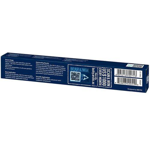 купить Arctic MX-5 Thermal Compound 4g, Continuous Use Temperature 40-180C, Viscosity 550 poise, Density 3.20 g/cm3 в Кишинёве