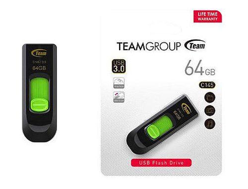 купить 64GB USB Flash Drive Team C145, USB 3.0, TC145364GG01 (memorie portabila Flash USB/внешний накопитель флеш память USB) в Кишинёве