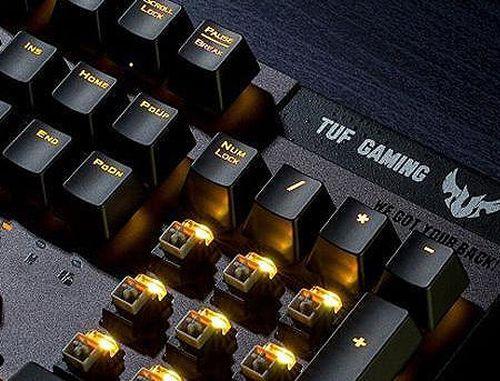 купить ASUS TUF Gaming K7 Optical-Mech Keyboard with IP56 resistance to dust and water, aircraft-grade aluminum, and Aura Sync lighting, gamer (tastatura/клавиатура) в Кишинёве