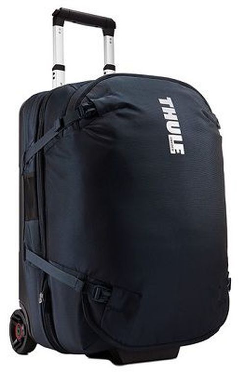 cumpără Travel Bag - THULE Subterra Rolling Split Duffel, Mineral, 800D Nylon, Dimensions 36 x 37 x 55 cm, Weight 3.45 kg, Volume 56L, Innovative 3-in-1 solution allows you to pack either one large checked piece of luggage or two smaller carry-ons în Chișinău