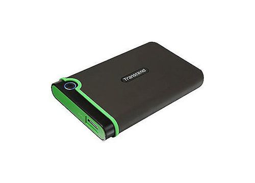 """купить 2.5"""" External HDD 2.0TB (USB3.0/Type-C), Transcend StoreJet 25MC, Iron Gray, MIL-STD-810G 516.6., Durable anti-shock RUBBER outer case,  Advanced internal hard drive suspension system, One Touch Backup, Quick Reconnect Button в Кишинёве"""