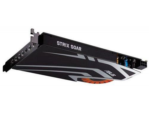 купить ASUS STRIX SOAR 7.1 PCIe gaming sound card with an audiophile-grade DAC and 116dB SNR, PCI Express, Retail (placa de sunet interna/внутренняя звуковая карта) в Кишинёве