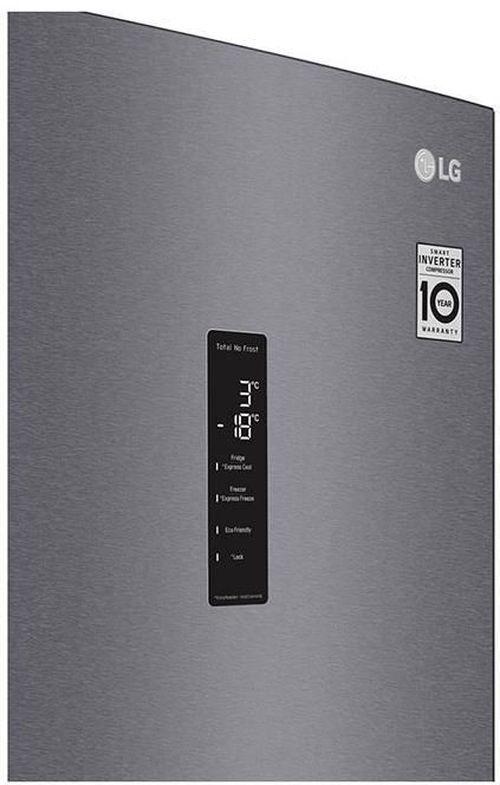 cumpără Frigider cu congelator jos LG GA-B459MLSL în Chișinău