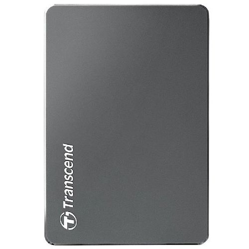 """купить 2.5"""" External HDD 1.0TB (USB3.0)  Transcend StoreJet 25С3, Silver, Aluminum casing, Crafted with aluminum anodizing and CNC milling technology , Exclusive Transcend Elite, Software compatible with Mac OS X в Кишинёве"""