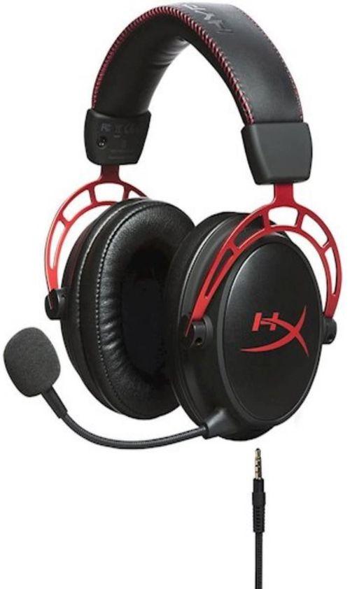 купить Наушники с микрофоном HyperX HX-HSCA-RD/EE, Cloud Alpha, black/red в Кишинёве