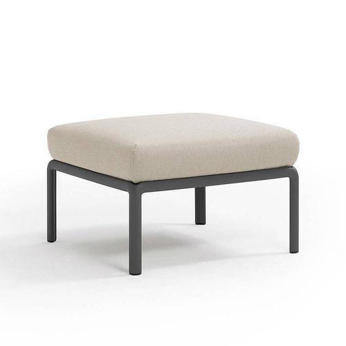 купить Пуф с подушкой c водоотталкивающей тканью Nardi KOMODO POUF ANTRACITE-TECH panama 40369.02.131 в Кишинёве