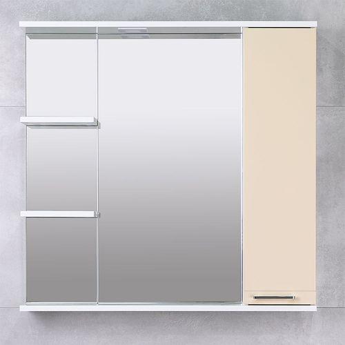 купить Rivera Шкаф-зеркало беж 860 R в Кишинёве