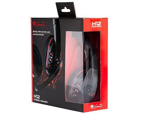 купить Genesis H12 Gaming Headset, 20Hz - 20000Hz, 119 dB, Volume Control, 1.8m (casti cu microfon/наушники с микрофоном), www в Кишинёве