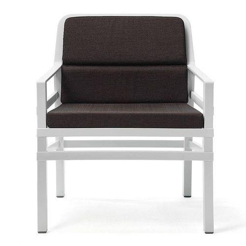 купить Кресло с подушками Nardi ARIA FIT BIANCO caffe 40330.00.165.FIT (Кресло с подушками для сада и терас) в Кишинёве
