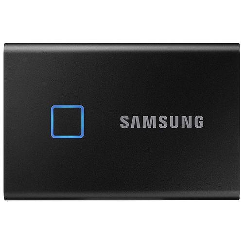 купить 500GB Samsung Portable SSD T7 TOUCH MU-PC500K/WW External SSD, Black, Fingerprint, Read 1050 MB/s, Write 1000 MB/s, USB 3.2/Type-C (SSD extern/внешний SSD) в Кишинёве