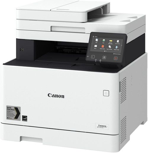купить MFD Canon i-Sensys MF734CDW, Color Printer/Copier/Scanner,FAX,ADF(50-sheet),Duplex,Net,WiFi,USB-Host, A4,27ppm,1GB,1200x1200dpi, 52-163g/m2,Scan 9600x9600dpi,250+50sheet tray, Max.50k pages per month, Cart 046HBk/046Bk+046HC/M/Y/046C/M/Y в Кишинёве