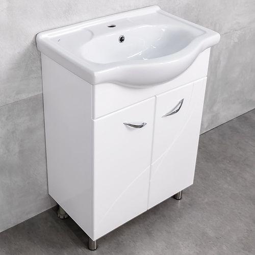 купить Premium Шкаф белый Pro под умывальник Seliger 600 в Кишинёве