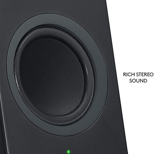купить Logitech Z207 Black Bluetooth Stereo Speakers 2.0 ( RMS 5W, 2x2.5W satel.), 980-0001295 (boxe sistem acustic) в Кишинёве