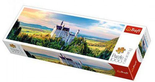 """cumpără 29028 Puzzles - """"1000 Panorama"""" - Neuschwanstein Castle/Trefl în Chișinău"""