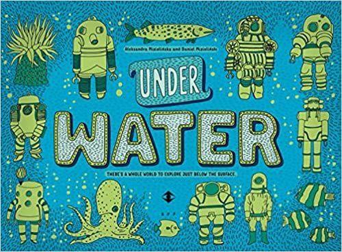 купить Under Water, Under Earth - Aleksandra Mizielinska, Daniel Mizielinski в Кишинёве