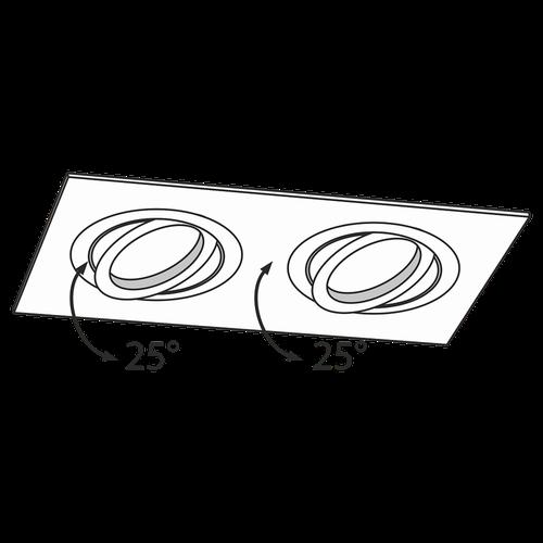 купить Спот врезной DL024-2-02B в Кишинёве