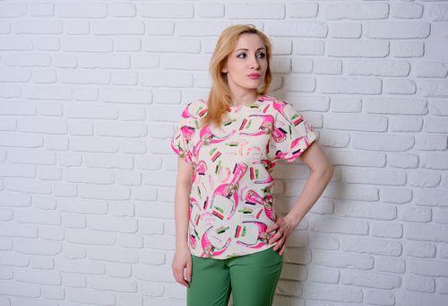 купить Блузка Simona ID 9667 в Кишинёве