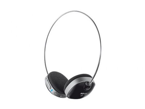 купить Trust  Wireless Bluetooth Headset, with Microphone, Bluetooth technology up to 10m, on/off button, volume control, Built-in Li-ion battery for 8 hours lifetime, rechargeable by USB, Black в Кишинёве