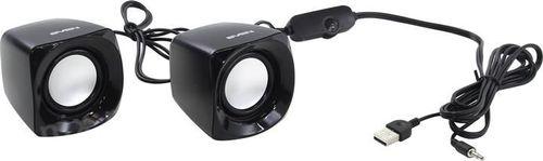 cumpără Speakers SVEN 120 Black (USB),  2.0 / 2x2.5W RMS, USB power supply, Volume control on the cable în Chișinău