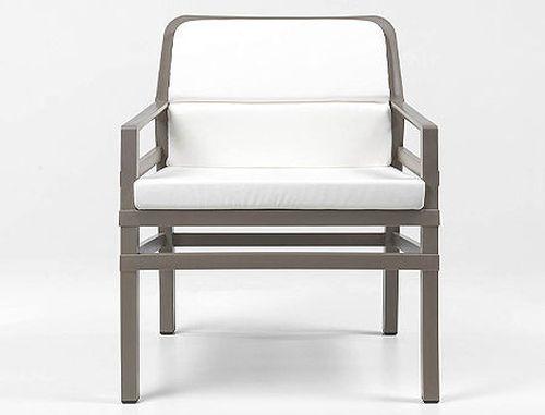 купить Fotoliu de gradina / de exterior Nardi ARIA FIT (fotoliu + perna spate + perna sezut) acrilic fabric (21 combinatii de culori) в Кишинёве