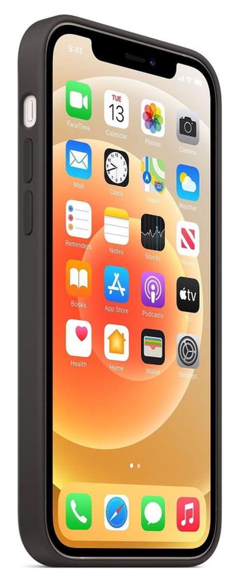 купить Чехол для смартфона Helmet iPhone 12 PRO MAX Black Liquid Silicone Case в Кишинёве