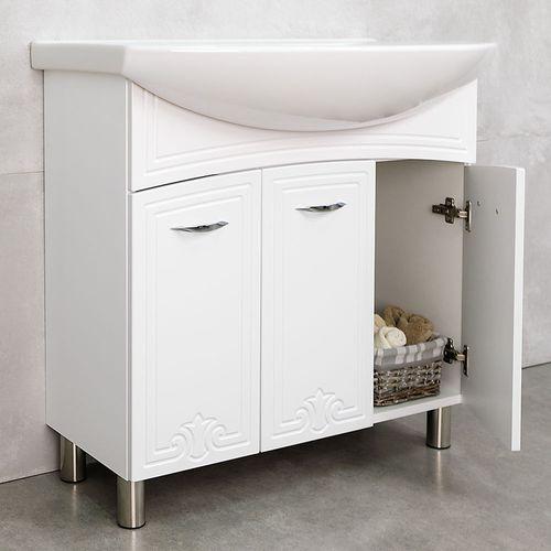 купить Deco One Шкаф  белый под умывальник Zenon 860 в Кишинёве