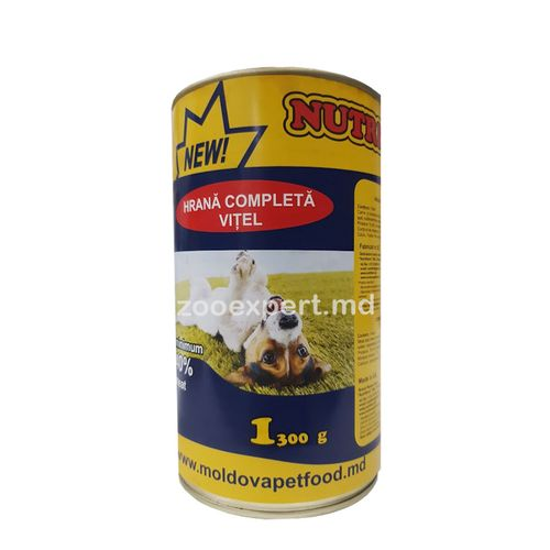 купить Nutritdog телятина и цыпленок в Кишинёве