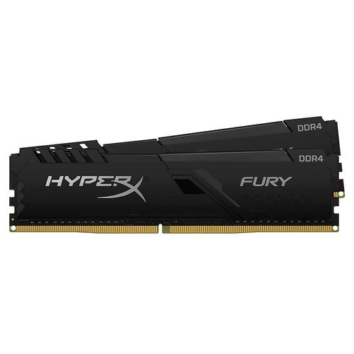 купить 32GB DDR4 Dual-Channel Kit Kingston HyperX FURY Black HX432C16FB4K2/32 (2x16GB) DDR4 PC4-25600 3200MHz CL16, Retail (memorie/память) в Кишинёве