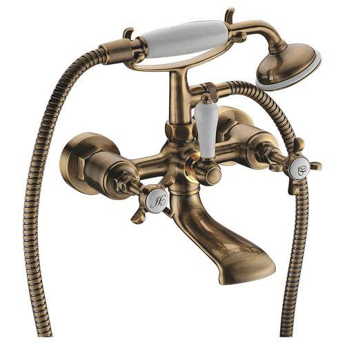 CUTHNA antiqua смеситель для ванны двухвентильный, бронза
