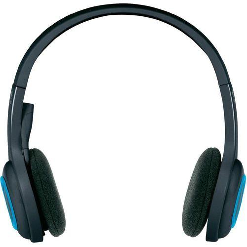cumpără Logitech Wireless Headset H600, Noise-canceling Microphone, Fold-and-go design, on-ear controls, Six-hour rechargeable battery, 2.4 GHz wireless, Nano receiver, USB2.0 în Chișinău