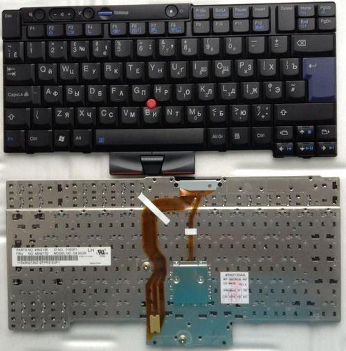 купить Keyboard Lenovo T400 T410 T420 T510 T520 W510 W520 X220 w/trackpoint ENG. Black в Кишинёве