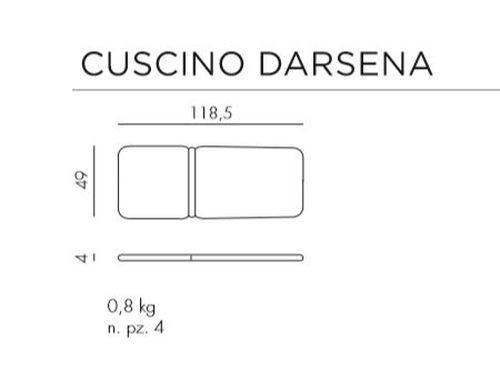 купить Saltea scaun gradina Nardi DARSENA acrilic fabric (3 culori) в Кишинёве