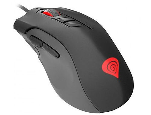 купить Genesis Xenon 400 Professional Gaming Mouse, 8 programmable buttons, RGB backlight, 5200dpi, 5300fps, 80ips, 1000Hz, 2.0m, USB (mouse/мышь) в Кишинёве