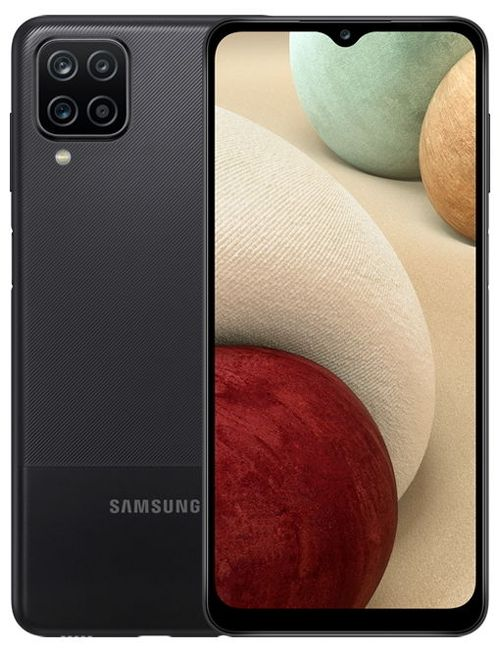купить Смартфон Samsung A125/32 Galaxy A12 Black в Кишинёве