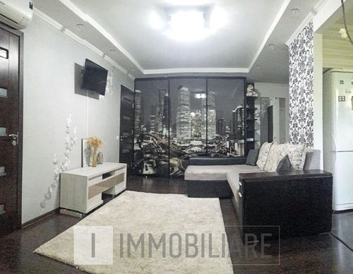 Apartament cu 2 camere+living, sect. Botanica, str. Independenței.