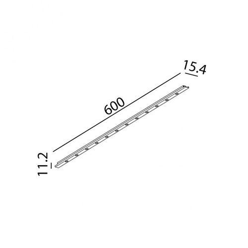 купить Светильник линейный MINI_LINE42 COMFORT 600 07.6001.8.930.WH в Кишинёве