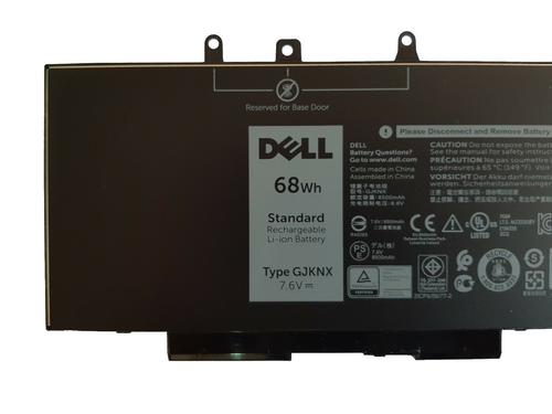 купить Battery Dell Latitude 5280 5480 5580 5290 5490 Precision 15 3520 GJKNX DV9NT KCM82 GD1JP 7.6V 8500mAh Black Original в Кишинёве