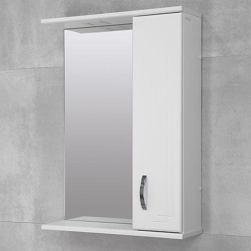 купить Verso Шкаф-зеркало белое хром 550 R в Кишинёве