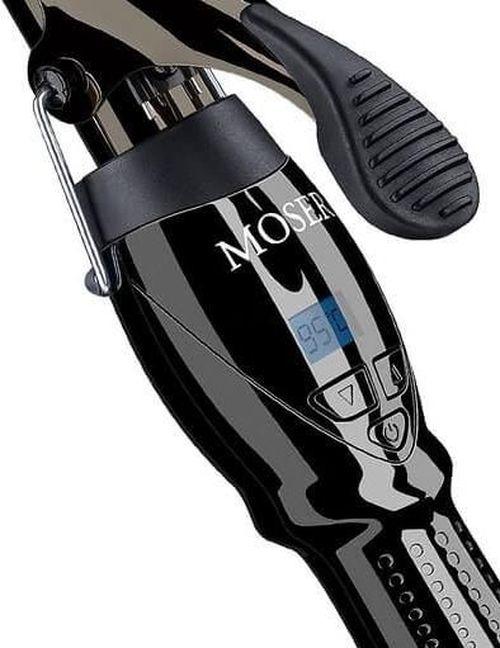 купить Щипцы для укладки Moser 4444-0050 Titan Curl 25mm black в Кишинёве