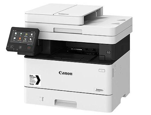 купить Canon i-Sensys MF443dw Mono Printer/Copier/Color Scanner, A4, Duplex, Duplex ADF(50-sheets), WiFi, Network Card, 1200x1200 dpi with IR (600x600dpi), 38 ppm, 1GB, PostScript, USB 2.0, Cartridge 057 (3100p.)/057H (10000p.), в Кишинёве