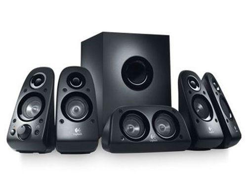 купить Logitech Z506 Black Channel Surround Sound 5.1 Speakers and Subwoofer ( RMS 75W, 27W subwoofer, 4x8W satel, center 16W. ), 45Hz - 20kHz, Stereo headphone jack, 980-000431 www в Кишинёве