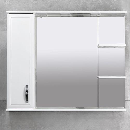 купить Allure Шкаф-зеркало белое 1000 L в Кишинёве