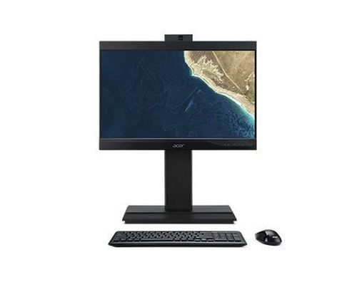 cumpără All-in-One PC - 23.8''  ACER Veriton Z4860G, FHD IPS (DQ.VRZME.012) Intel® Core® i3-8100 3.6GHz, 8GB DDR4, 256GB SSD, CR, DVD-RW, Intel® UHD, VGA, DP, USB-C, COM-port, VESA, 2.0 MP FHD cam, Wi-Fi-AC/BT5, wireless KB&MS, Endless OS, Black în Chișinău