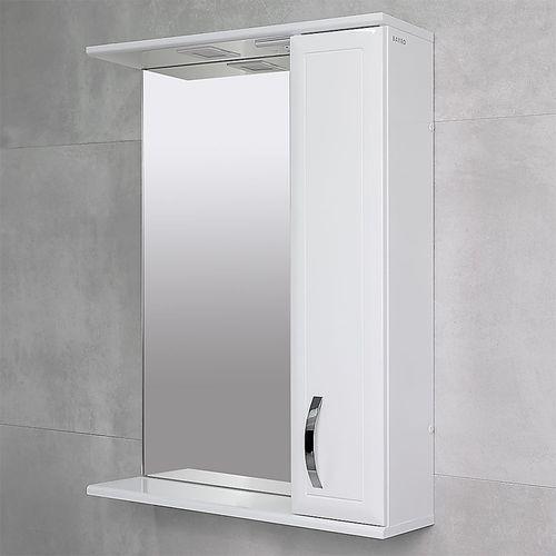 купить Allure Шкаф-зеркало белое 650 R в Кишинёве