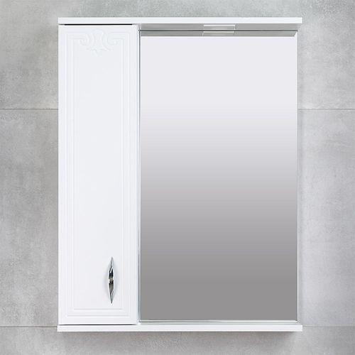 купить Deco One Шкаф-зеркало белый 650 L в Кишинёве