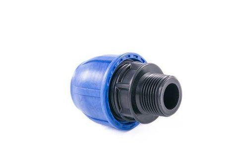 купить Муфта полиэтиленовая компрессионная с резьбой PE D20x1/2 M в Кишинёве
